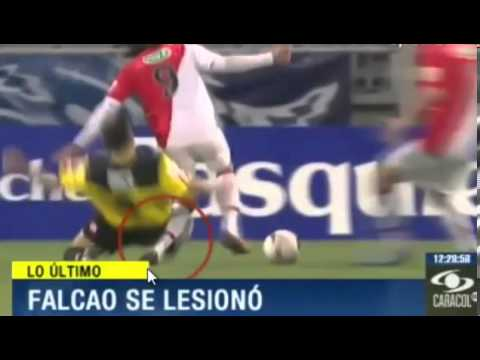 ✔ FALCAO GARCIA SE LESIONA ANTES DEL MUNDIAL BRASIL 04