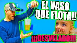 INCREÍBLE TRUCO MAGIA!! VASO FLOTANTE Y TRUCO DESVELADO!!!!     ·VLOG·