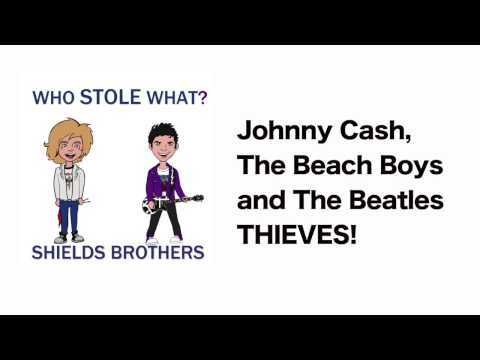 Johnny Cash, The Beach Boys and the Beatles ALL THIEVES!