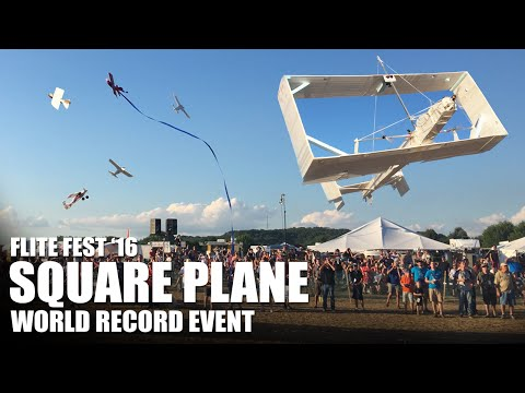 World Record Event!! Giant Square Plane | Flite Fest 2016 - Part 2
