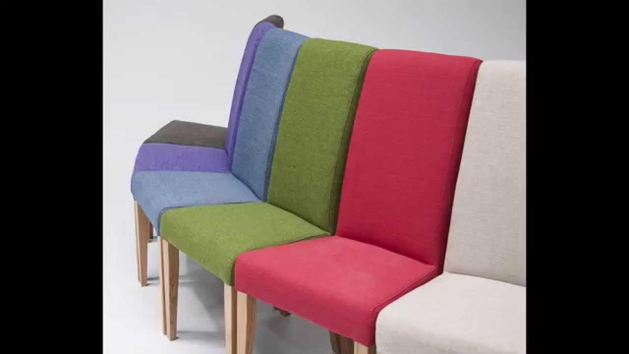Tivoli Oak Fabric Rollback Chair | Italian Designer Oak Upholstered ...