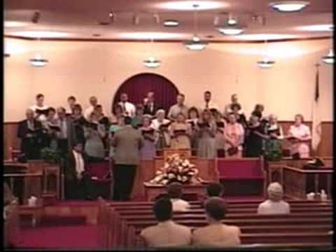 """Jesus Hold My Hand"" Mount Carmel Baptist Church Choir, Fort Payne Alabama"