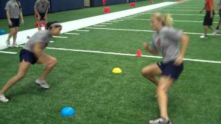 Auburn Softball 9 21 2011 Agility Training and Weight Room.wmv