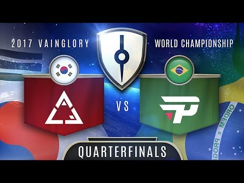 PaiN Gaming (SA) VS ACE Gaming (EA) - Razer 2017 Vainglory World Championship  - Quarterfinals
