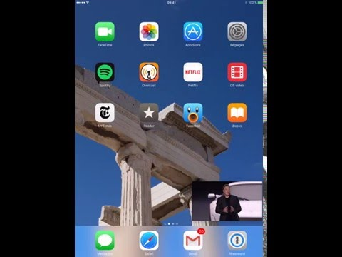 iPad YouTube Picture in Picture with CornerTube