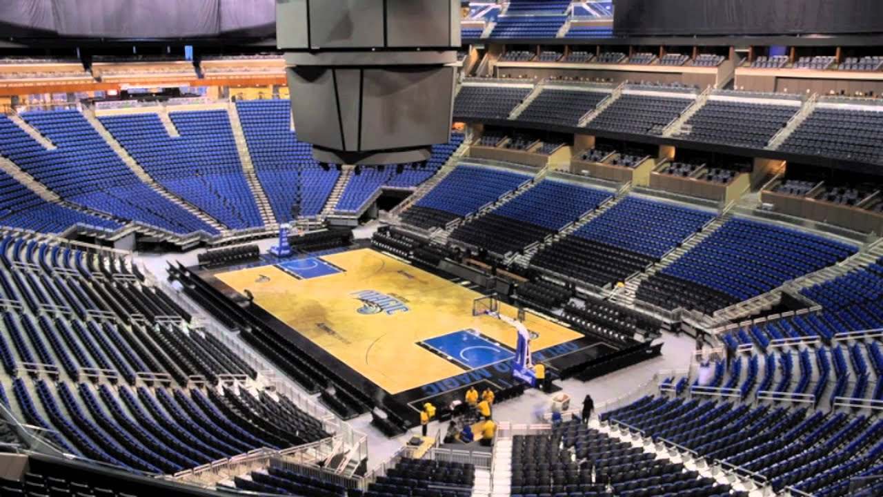 Amway Center Event Time Lapse - YouTube