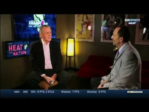 March 06, 2015 - Sunsports - Miami Heat's Pat Riley Speaks about Erik Spoelstra