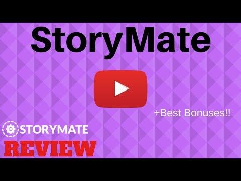 Storymate Review, ⚠️BEWARE⚠️ BEST STORYMATE BONUS HERE!⚡⚡. http://bit.ly/2HwwXk6
