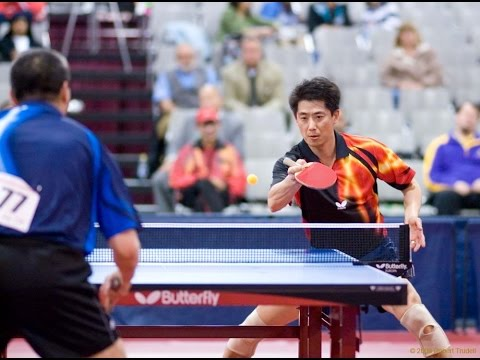 Cheng Yinghua vs David Zhuang Part 1, Men's Singles Table Tennis Final & Team Trial