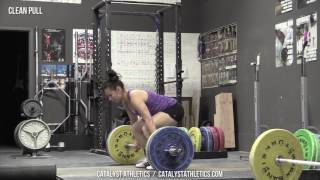Clean Pull - Olympic Weightlifting Exercise Library - Catalyst Athletics