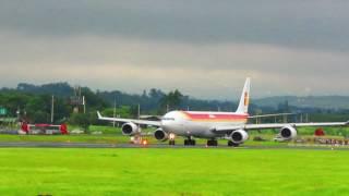 DESPEGUE DE AVIÓN IBERIA A340 10/09/16