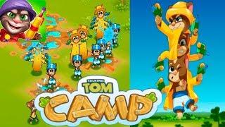 Talking Tom Camp Лагерь Говорящего Тома #2 Новые Котята и прохождение Первой главы Том и Друзья