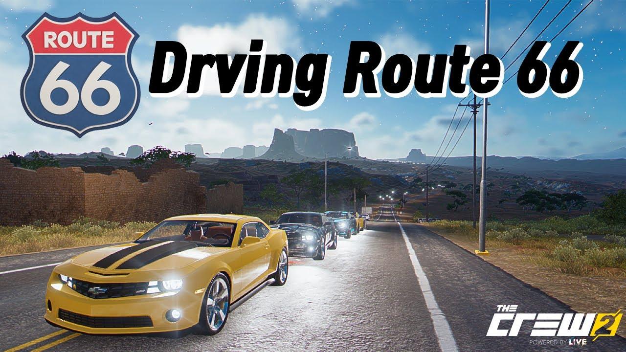 더크루2 - 미국에서 가장 유명한 도로 Route 66 드라이빙! (Feat 범블비)