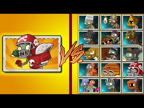 Plants Vs Zombies 2 All Star Con Placaje Vs Todos los Zombies Fuertes