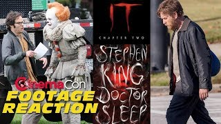 IT Chapter 2 and Doctor Sleep Footage Reaction (CinemaCon 2019)
