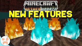 SMALL FEATURES YOU MISSED from the Minecraft Bedrock 1.16 Nether Update Beta!