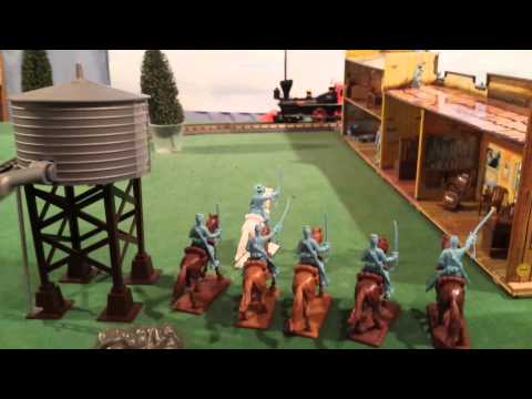 Don's Horsesoldiers Train Layout