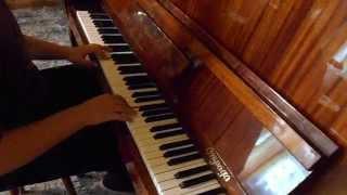 Олег Митяев - Как здорово (Изгиб гитары жёлтой...) на пианино