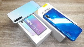 Redmi Note 8 vs Realme 5 - Which Should You Buy ?