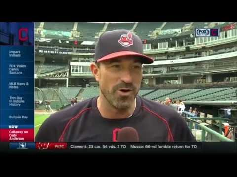 Indians' pitching coach Mickey Callaway on guiding young pitchers into October