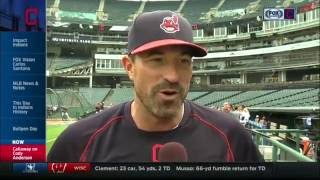 Indians' pitching coach Mickey Callaway on guiding young pitchers into October 2017 Video