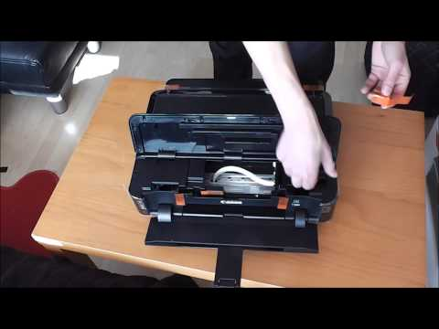 canon pixma ip7250 ciss ink with disassembling | FunnyCat.TV