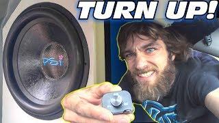 TURNING UP MY CAR w/ Loud BASS Music!!! EXO's 10,000 Watt Car Audio Subwoofer Sound System