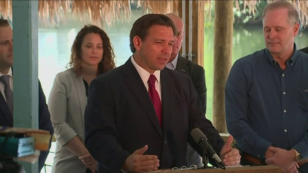 Florida Governor Ron DeSantis suspends all remaining local Covid ...