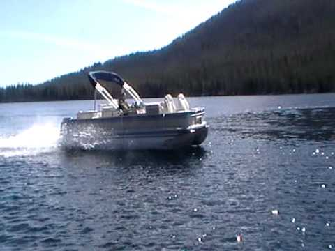 Pontoon Water Glide After Installation Youtube