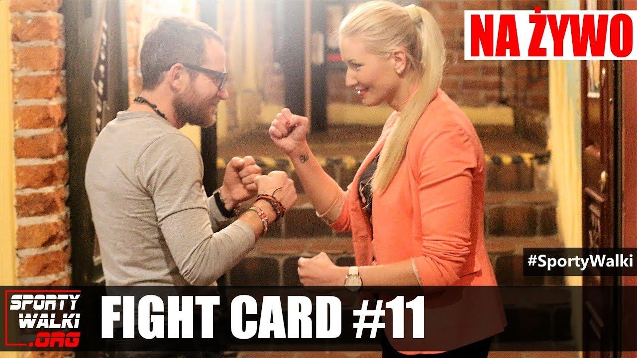 Magazyn Sportów Walki FIGHT CARD #11 – Maciej Zegan