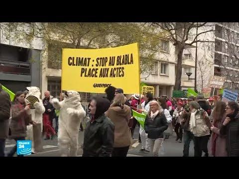 مسيرة ضخمة من أجل البيئة في باريس للتوعية بضرورة مواجهة تغير المناخ  - نشر قبل 45 دقيقة