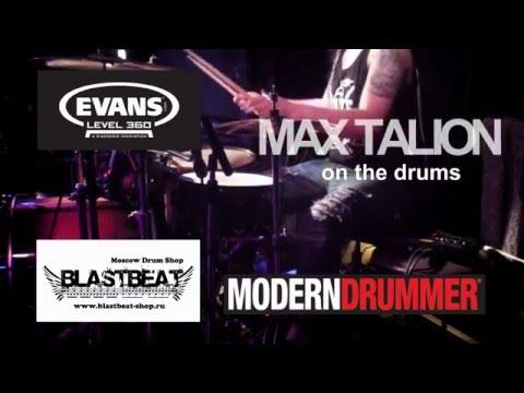 Max Talion Drum Cam - Харизма - Кто прав? (Москва, 22/05/15)
