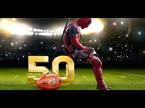 Deadpool Movie Super Bowl Commercial