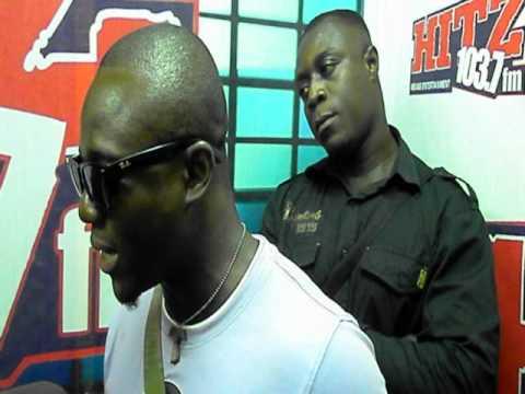 Afri Gh interview @ Hits 103.7fm