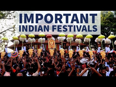 Important Festivals of India - Static GK