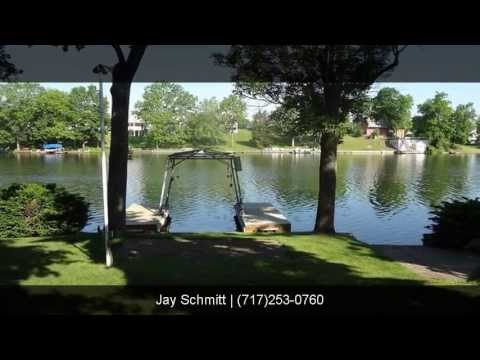 Lake Heritage, Gettysburg, PA, Waterfront Home, 3 Bedroom 2 Bathroom Rancher
