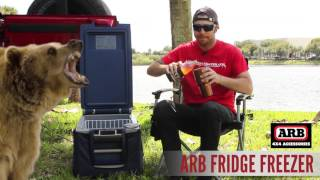 Eric talks about the ARB Fridge Freezer. The ARB Fridge freezer can...