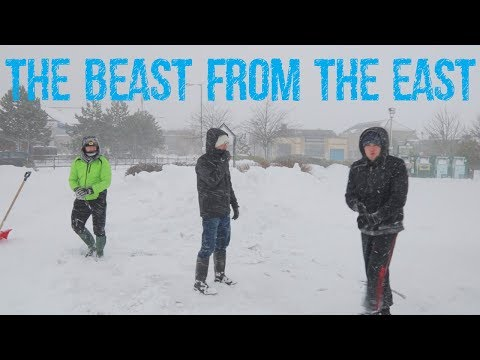 SCOTTISH SNOWMAGEDDON ||THE BEAST FROM THE EAST