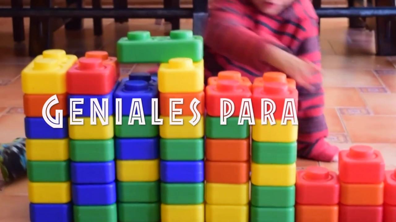 Jugando con ladrillos gigantes tipo lego youtube - Piezas lego gigantes ...