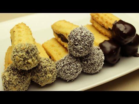 raupen schoko doppelkekse rezept kekse sandwiches youtube. Black Bedroom Furniture Sets. Home Design Ideas