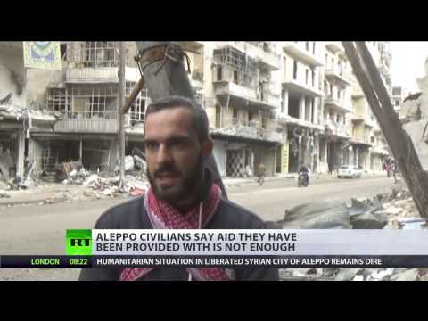 'Aleppo liberated, media disappears': Syrians neglected by MSM
