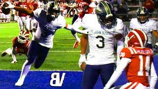 Mater Dei VS St John Bosco BATTLE FOR #1 SPOT! Top 2 UNDEFEATED Teams in NATION Go Head To Head!