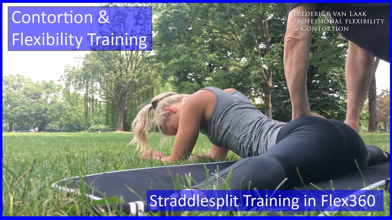 81 Flexyart Contortion Training: Straddle Outdoor - Also for Yoga, Pole, Ballett, Dance People