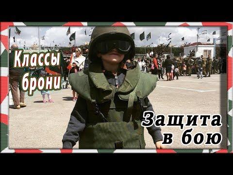 Классы защиты бронежилетов России. ГОСТ Р 50744-95