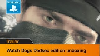 Watch Dogs Dedsec Edition Unboxing video - what's inside the special edition
