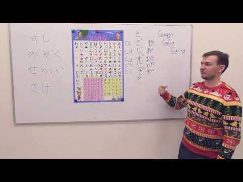 Японский язык. Азбука Хирагана. Урок 3