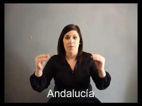 Provincias de Andalucía en Lengua de Signos