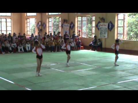 aerobic tự chọn 3 người MĐB