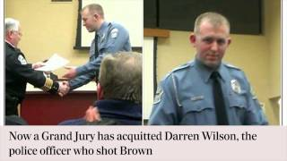 Background to the Ferguson shooting - in 60 seconds