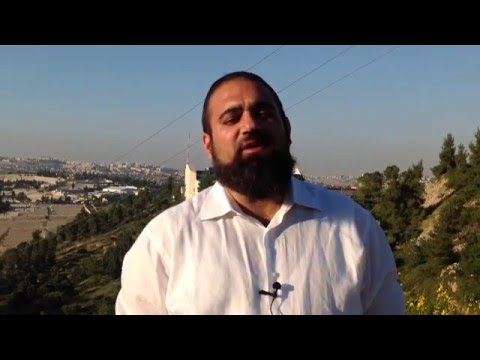 Special message about why PeSach is a Time To Remember (Jerusalem)